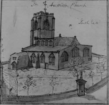 St Augustine's church by Kirkpatrick